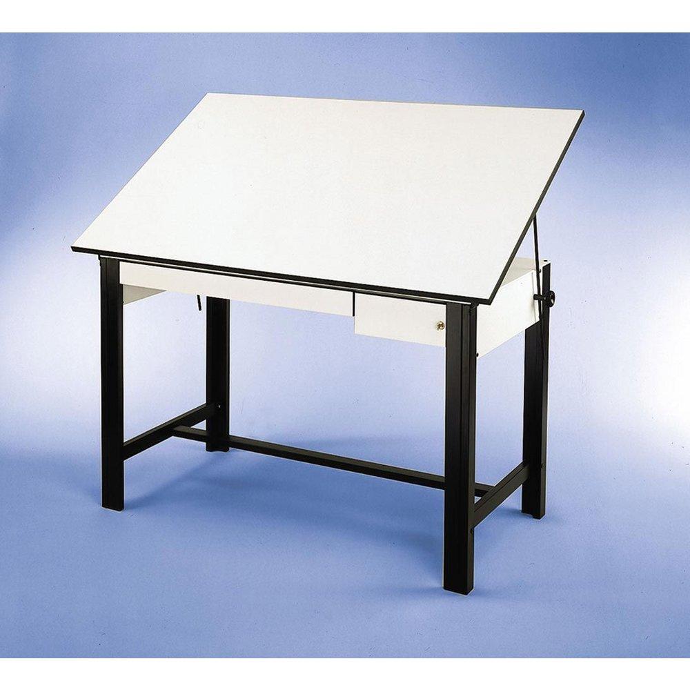 Alvin 375 X 72 Design Master 4 Post Drafting Table