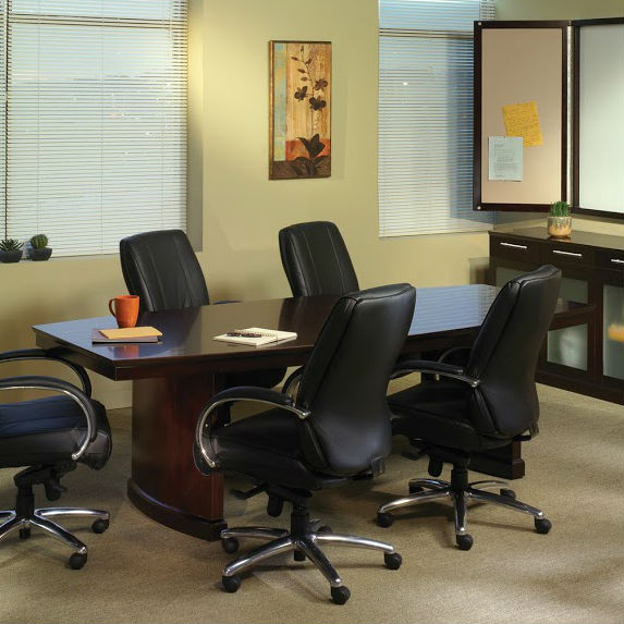 Mayline Sorrento Conference Table In Espresso SCESP - Espresso conference table