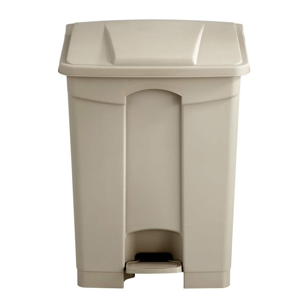 Safco Plastic Step On Can 17 Gallon 9922