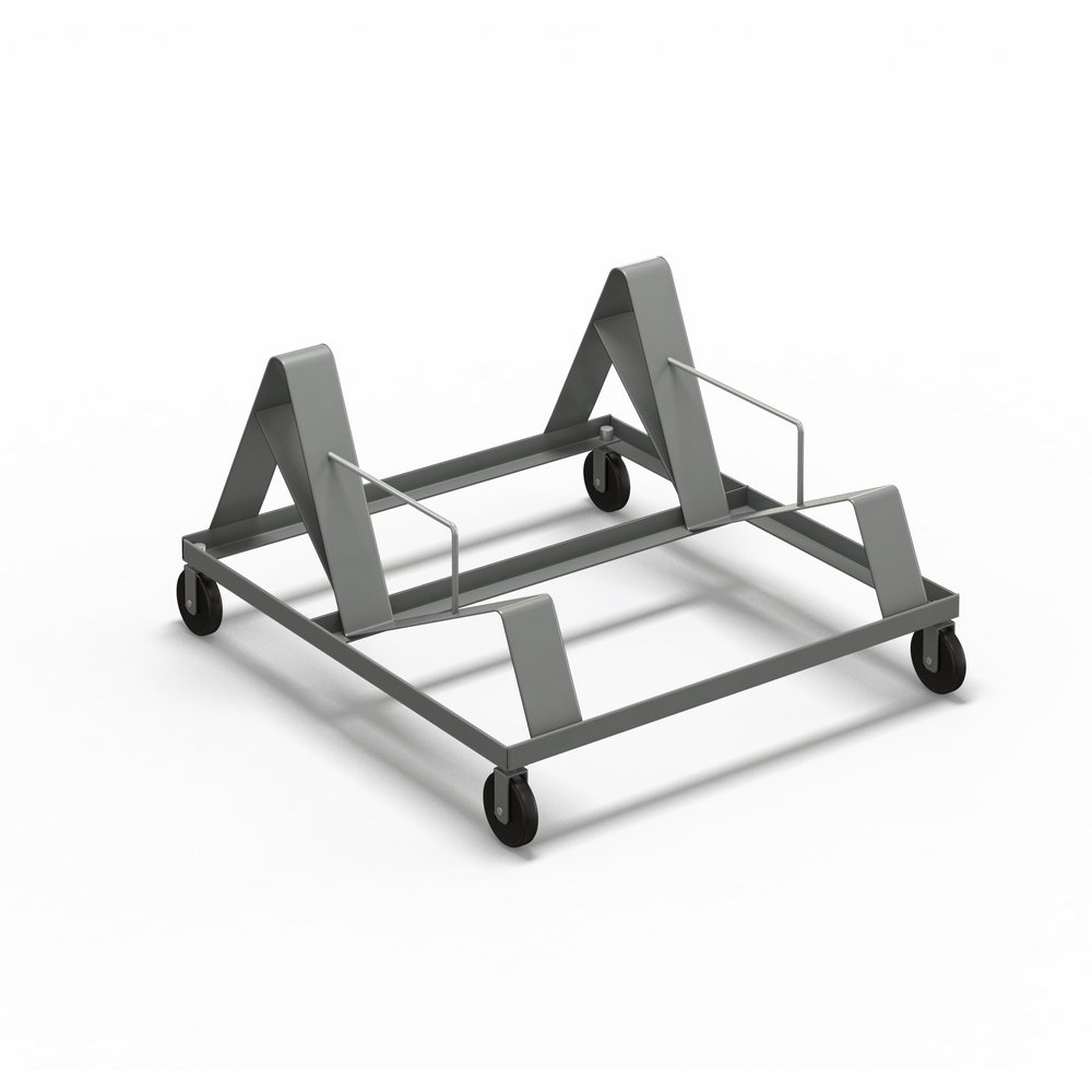 Mayline Folding Chair Stack Cart for 2300SC 2300C