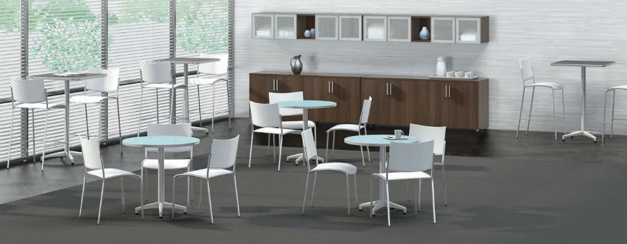 Breakroom, Cafe & Dining - Lunch/Break Room Tables and Chairs | DEW ...