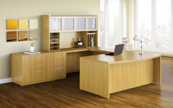 Aberdeen Office Furniture in Maple