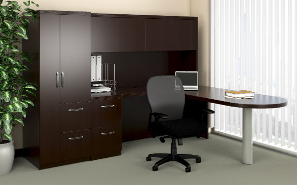 Aberdeen Office Furniture in Mocha