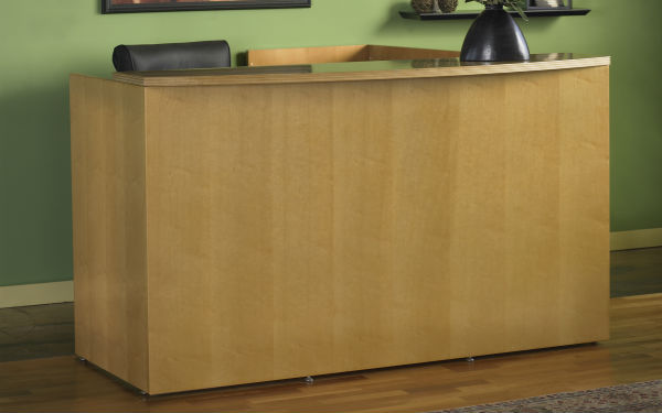Luminary Reception Room Furniture in Maple