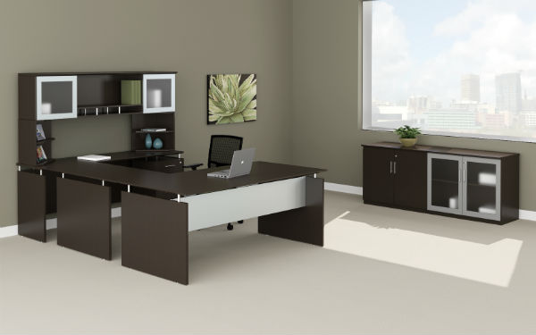 Medina Office Furniture in Mocha