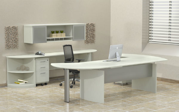 Medina Office Furniture in Sea Salt