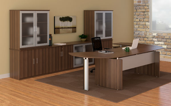 Medina Office Furniture in Brown Sugar