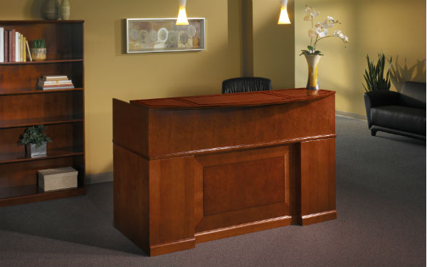 Sorrento Reception Room Furniture in Bourbon Cherry