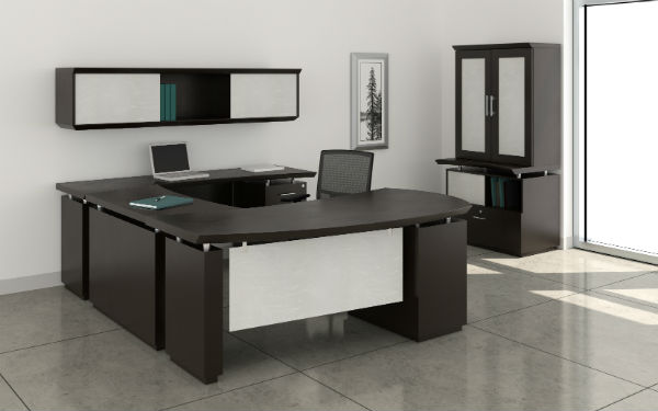 Sterling Office Furniture in Mocha