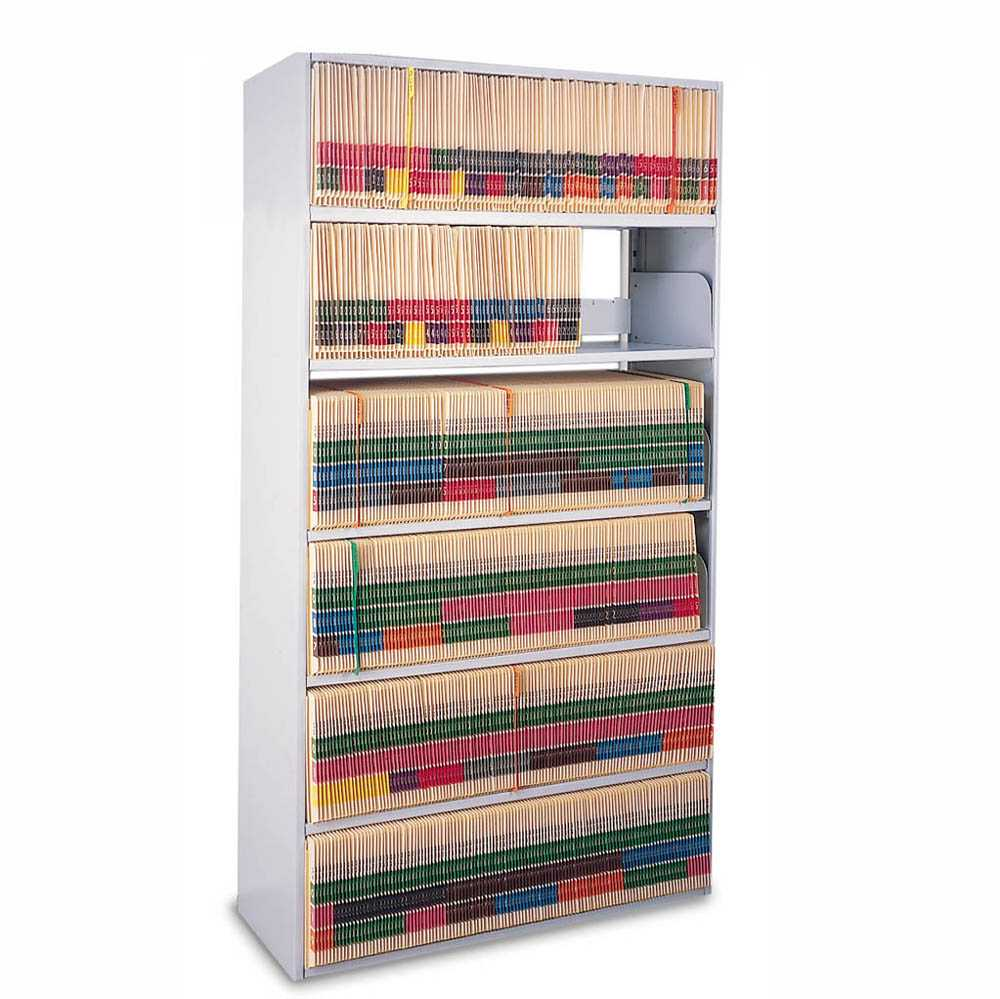 Mayline 6 Tier 65 H Open Medical Shelving Legal