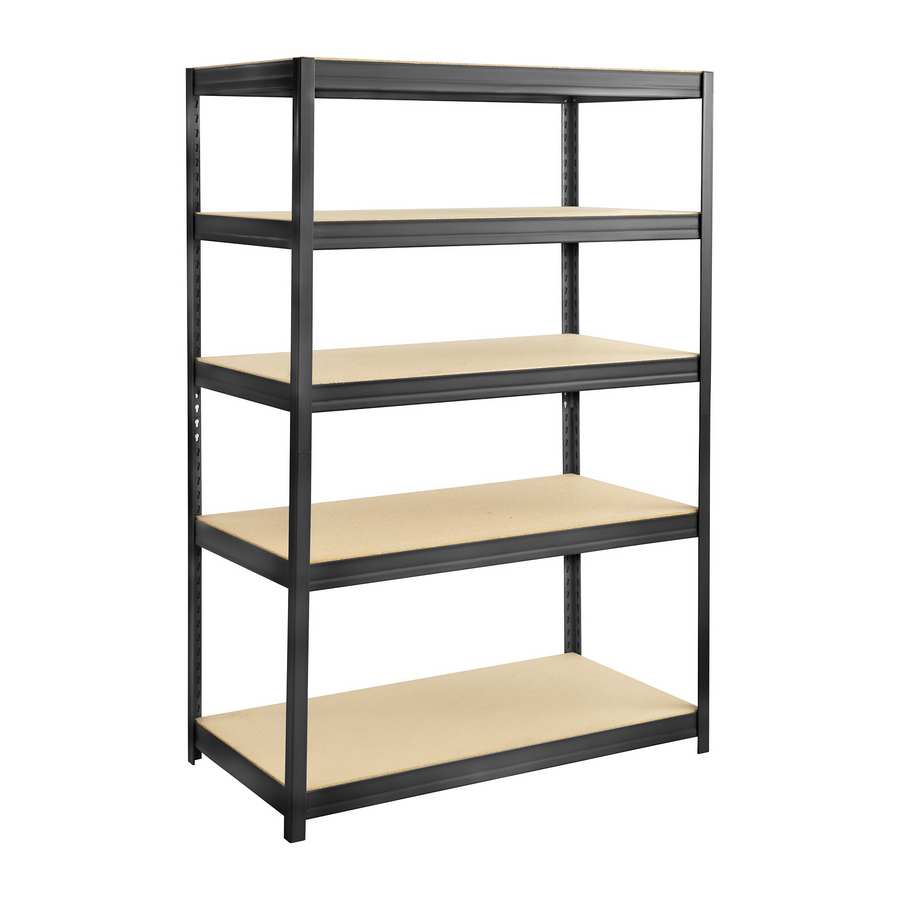 Safco Boltless Steel & Particleboard Shelving