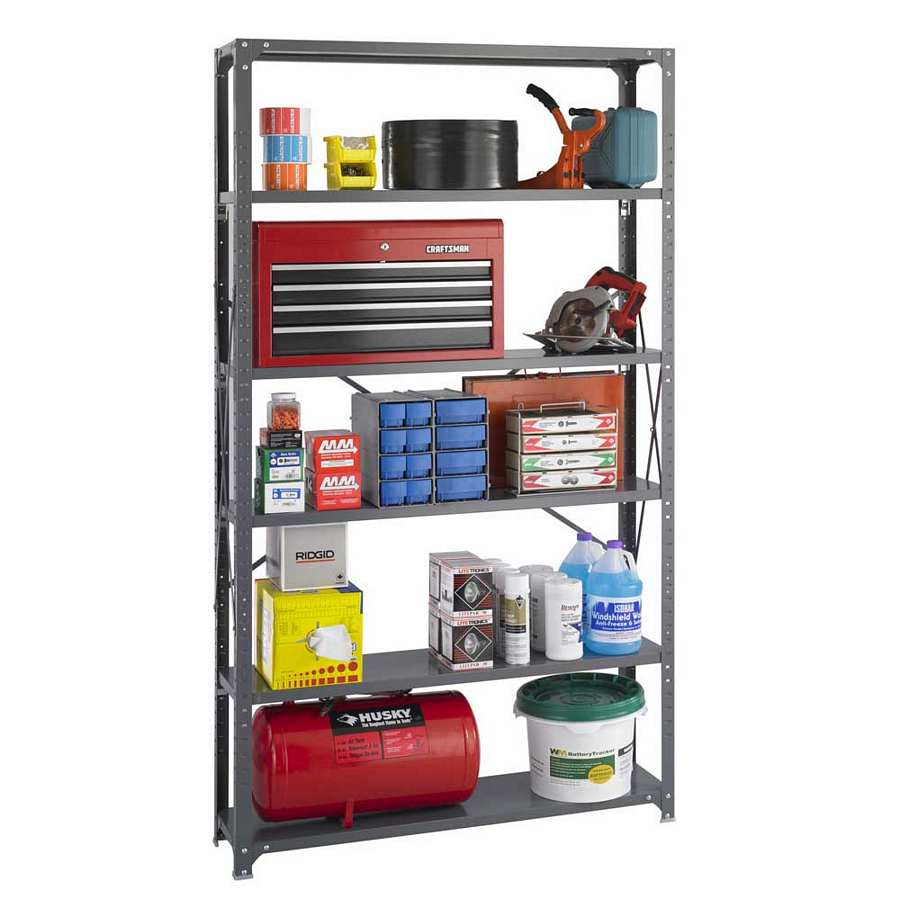 Safco Industrial Steel Shelving