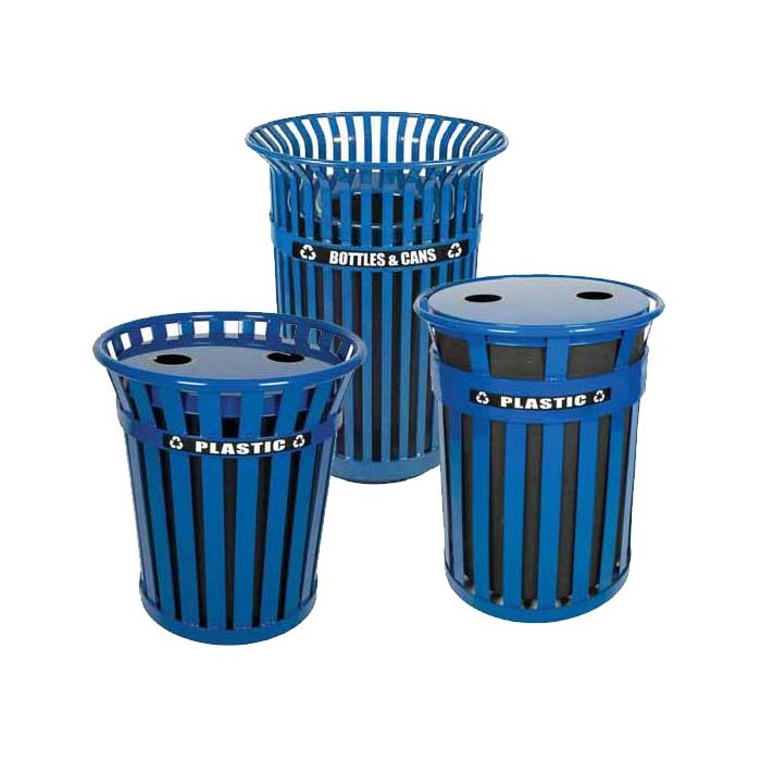 Outdoor Recycling Receptacles & Containers