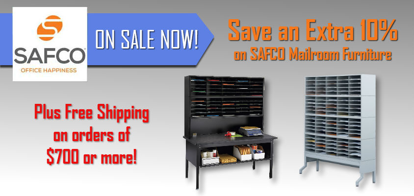 Safco Mailroom Sorters & Furniture Sale