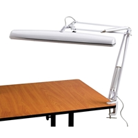 Tri-Fluorescent Task Lamp Drafting Furniture, Drafting Lamps