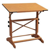 "24"" x 36"" Pavillion Art and Drawing Table Drafting Furniture, Drafting Tables and Drawing Boards, Wooden Drafting Tables, Alvin Pavillon Art and Drawing Table, drawing table"