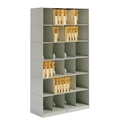 6-Tier Stax Medical Shelving (Legal Size)