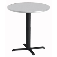 "36"" Round High-Top Table"