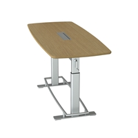 Confluence 6 Height-Adjustable Meeting Table