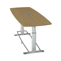 Confluence 8 Height-Adjustable Meeting Table