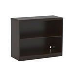 Aberdeen 2 Shelf Bookcase in Mocha