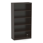 Aberdeen 5 Shelf Bookcase in Mocha