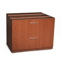 "Aberdeen 36"" Credenza Lateral File in Cherry"