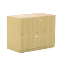 "Aberdeen 36"" Credenza Lateral File in Maple"