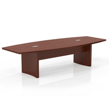 Aberdeen 10' Boat-Shaped Conference Table in Cherry