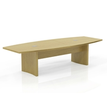 Aberdeen 10' Boat-Shaped Conference Table in Maple