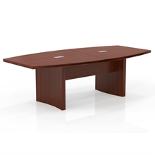 Aberdeen 8' Boat-Shaped Conference Table in Cherry