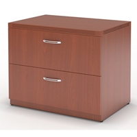 "Aberdeen 30"" Freestanding Lateral File in Cherry"