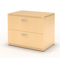 "Aberdeen 30"" Freestanding Lateral File in Maple"
