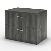 "Aberdeen 30"" Freestanding Lateral File in Gray Steel"