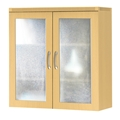 Aberdeen Glass Display Cabinet in Maple
