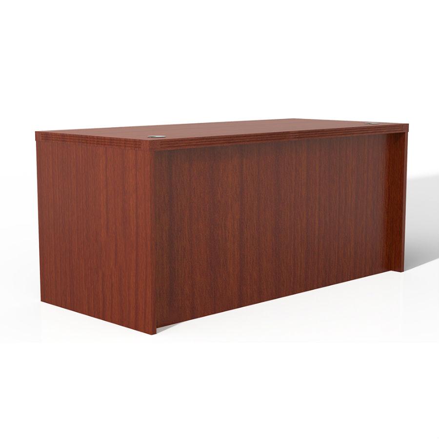 Mayline Aberdeen 72 Quot Rectangular Desk In Cherry Ard7230lcr