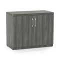 Aberdeen Storage Cabinet in Gray Steel