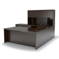 Aberdeen Executive Desk in Mocha