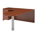 Aberdeen Peninsula Desk in Cherry