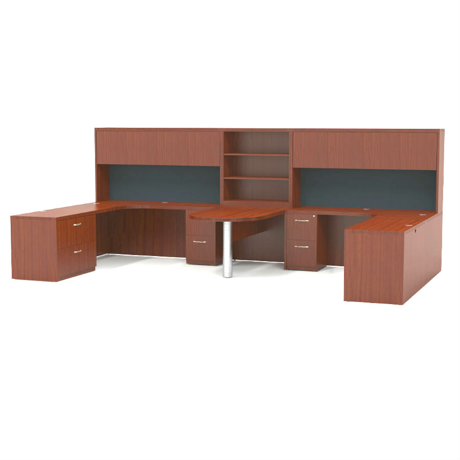 desk valencia medium alera thumbnail x cherry series mobile workstation by
