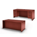 Aberdeen Executive Desk in Cherry