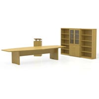 Aberdeen Conference Room Suite in Maple