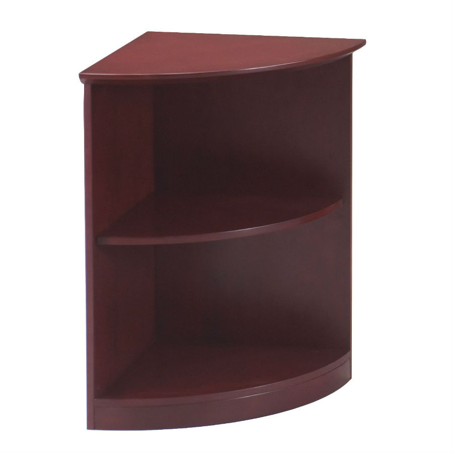 2shelf 14 round bookcase in sierra cherry