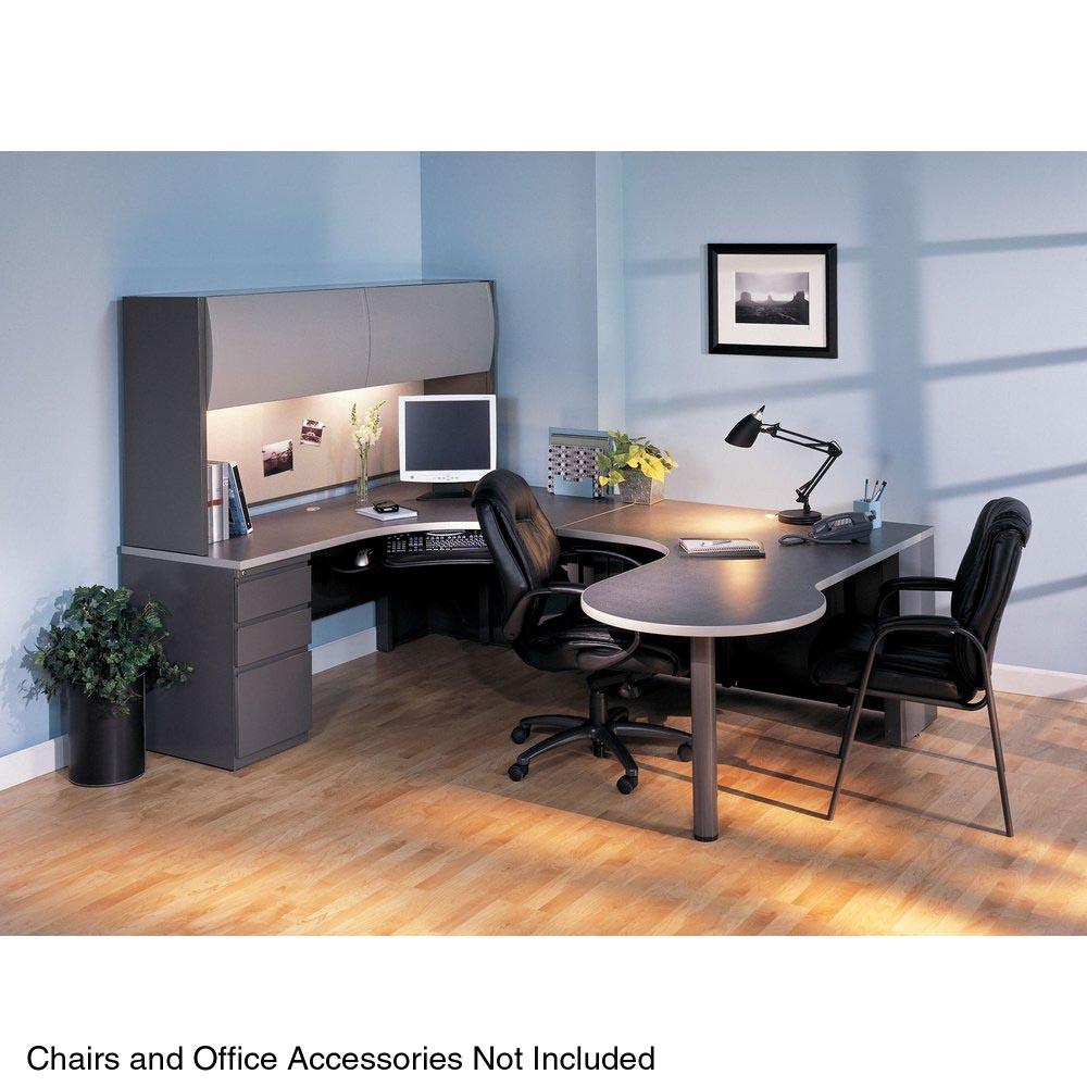 Mayline Csii U Shaped Desk With Hutch