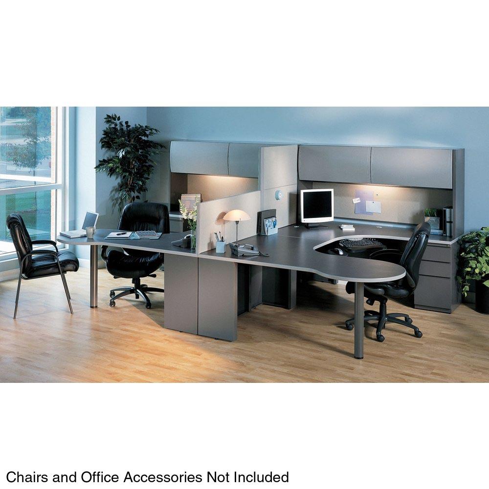 Mayline Csii Two Station Office Desk