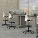 Even 6-Person Standing-Height Collaborative Worktable - LD13S