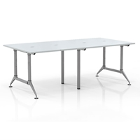 Even 4-Person Standing-Height Collaborative Worktable