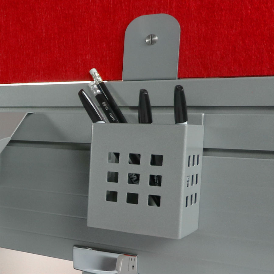 Mayline - Even Slat Wall Pencil Holder #LDPHS - DEW Office Furniture