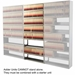 "86""H 8-Tier Medical Shelving (Legal Size) - EFL2415868SDV"