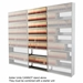 "97""H 9-Tier Medical Shelving (Letter Size) - EFL2412979SDV"
